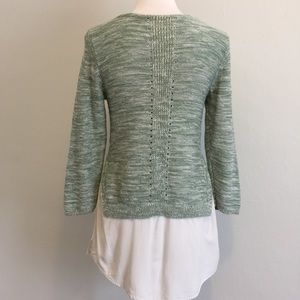 Anthropologie Sweaters - ANTHROPOLOGIE by MOTH Layered Tunic Sweater
